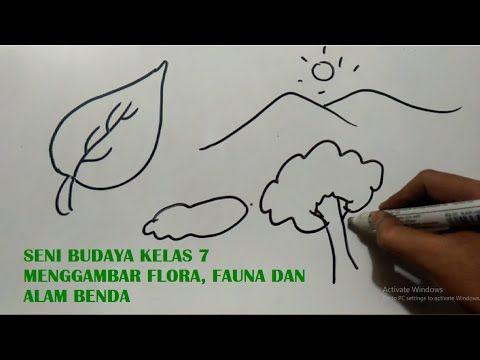 Contoh Gambar Ilustrasi Flora Fauna Dan Alam Benda Seni Budaya Kelas 7 Menggambar Flora Fauna Dan Alam Benda Youtube Doodle Sea T Gambar Ilustrasi Flora