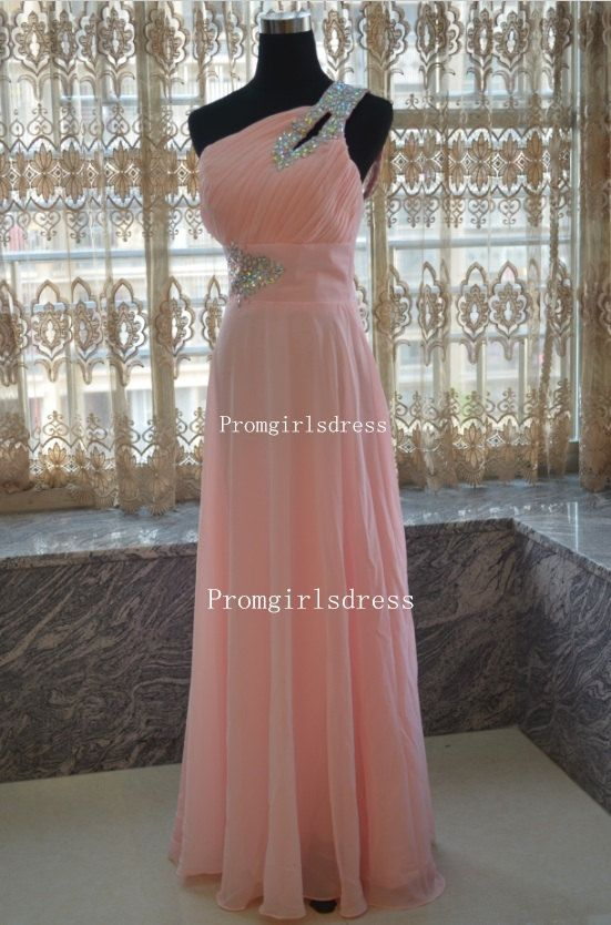 Prom Dress Long Prom Dress Prom Dresses Pink Prom por PromTimes