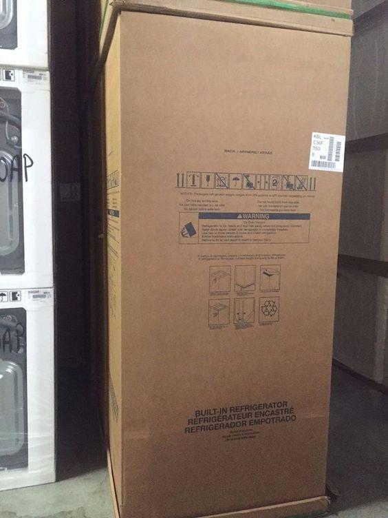 "KBLC36FTS-KitchenAid 36"" Built-in Bottom Freezer Refrigerator Stainless NIB!!! #KitchenAid"