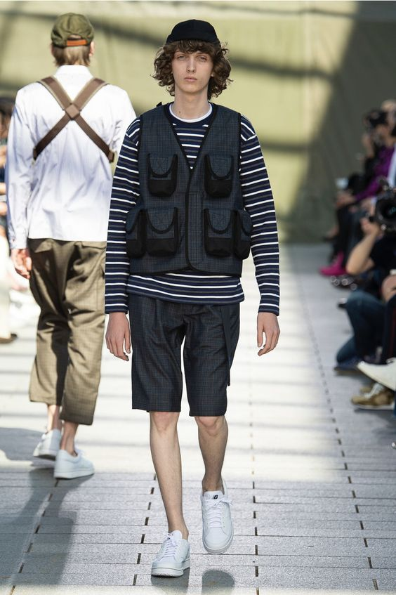 Mens Utility Trend // Junya Watanabe Spring/Summer 2019 collection.