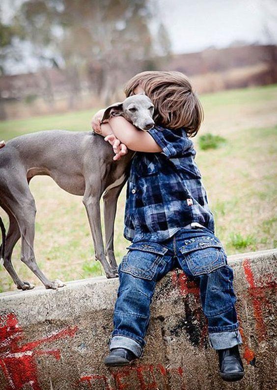 foto-nino-abrazando-perro: