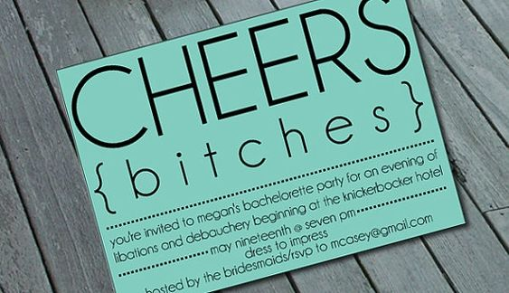Bachelorette party invitations   # Pinterest++ for iPad #