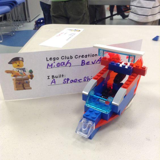 LEGO Club April 8