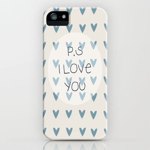 P.S I Love You  iPhone Case