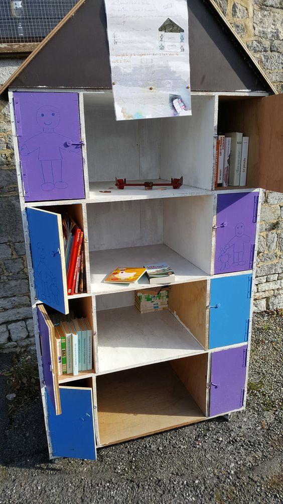 Boîte à livres Renlies Beaumont