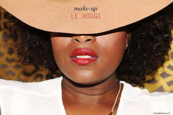 Make up - #BlackGirl #RedLips