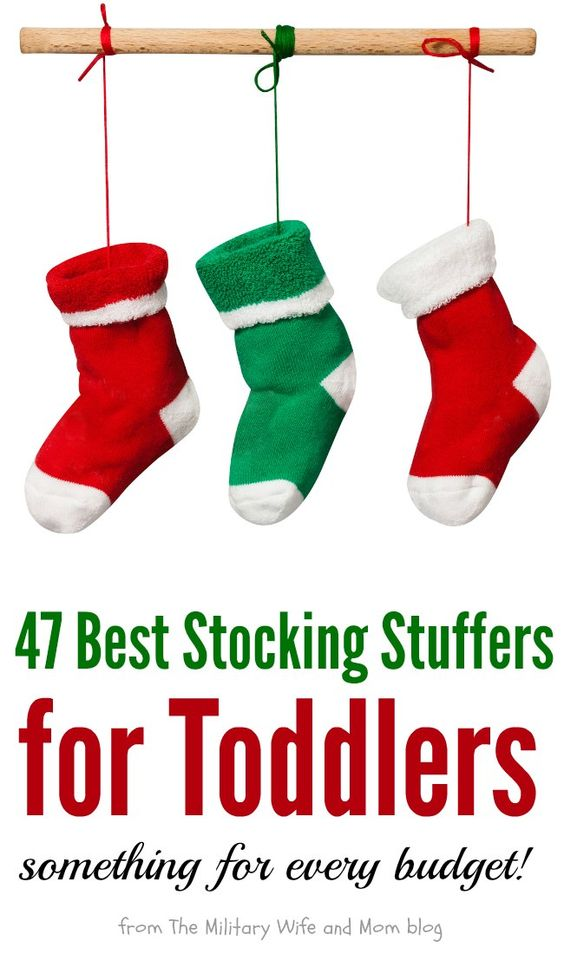 47 stocking stuffers for toddlers that will make