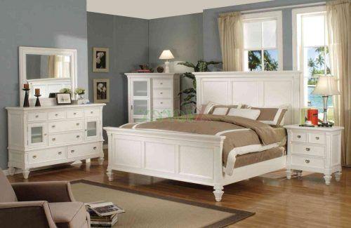 Understanding Distressed White Bedroom Furniture Decorating