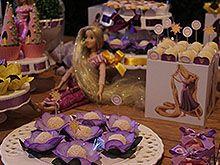 Festa Infantil Crianças de 2 anos - Tema: Decoraçao Enrolados