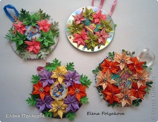Поделки и оригами на новый год