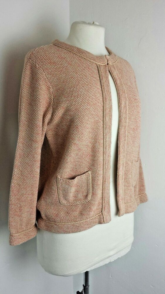 Ad Ebay Laura Ashley Jacket Cardigan Knitted Wedding Guest Chic Pink Eu Boucle 14 42 Knit Cardigan Laura Ashley Cardigan Boucle