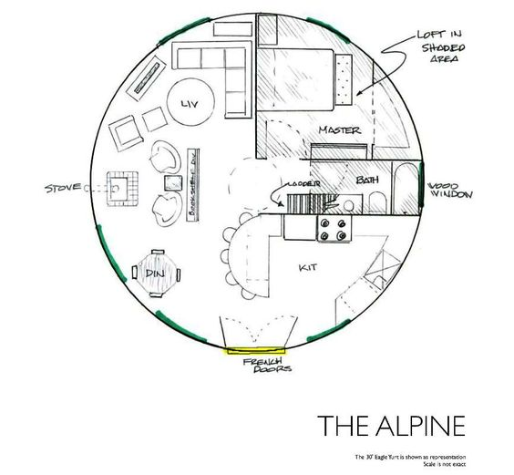 Yurts Floor Plans And Floors On Pinterest