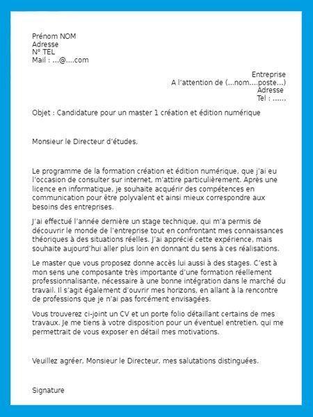Lettre De Motivation 1000 Modeles Gratuits De Lettres Lettre De Motivation Lettre De Motivation Universite Lettre De Motivation Ecole