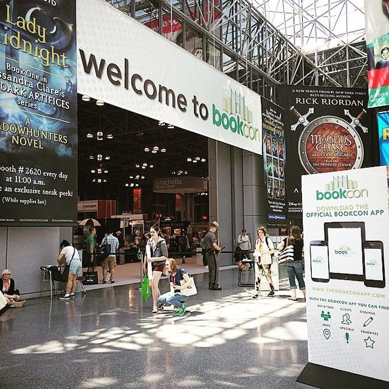 Going to BookCon is on my bucketlist!
