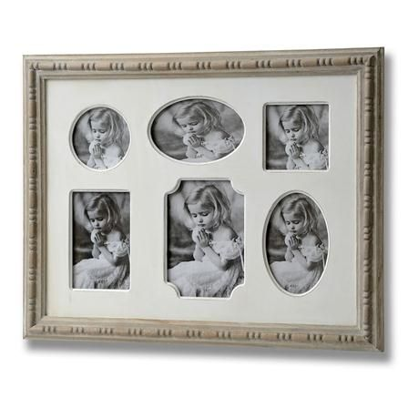 Country 6 Way Photo Frame