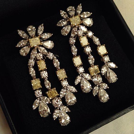 Haute Jewellery #diamonds #yellowdiamonds #fancy