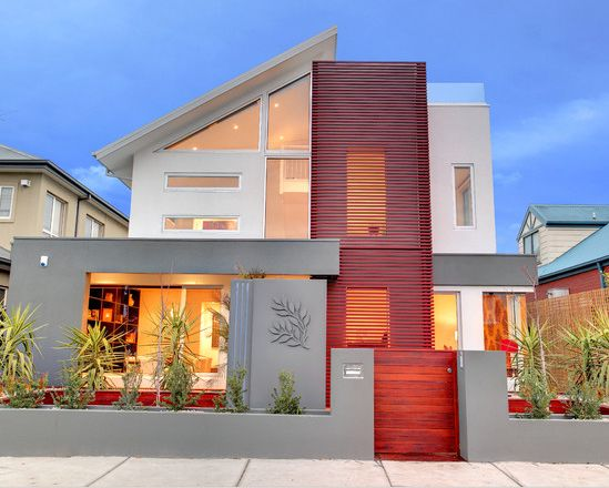 fachadas de casas modernas de dos pisos en mexico google