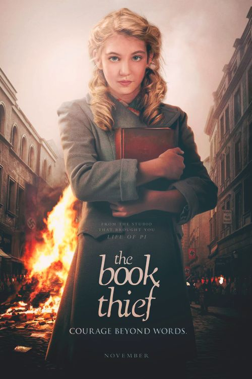 THE BOOK THIEF (2013): While subjected to the horrors of World War II Germany, young Liesel finds solace by stealing books and sharing them with others. In the basement of her home, a Jewish refugee is being sheltered by her adoptive parents.