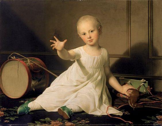 Prince Frederick of Schleswig-Holstein-Sonderburg-Augustenburg / Jens Juel, 1802: