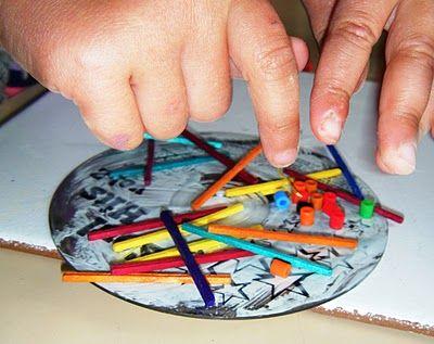 Easy CD suncatchers or mobiles