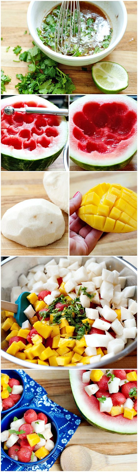 Strawberry Mango Jicama Salad Recipe — Dishmaps