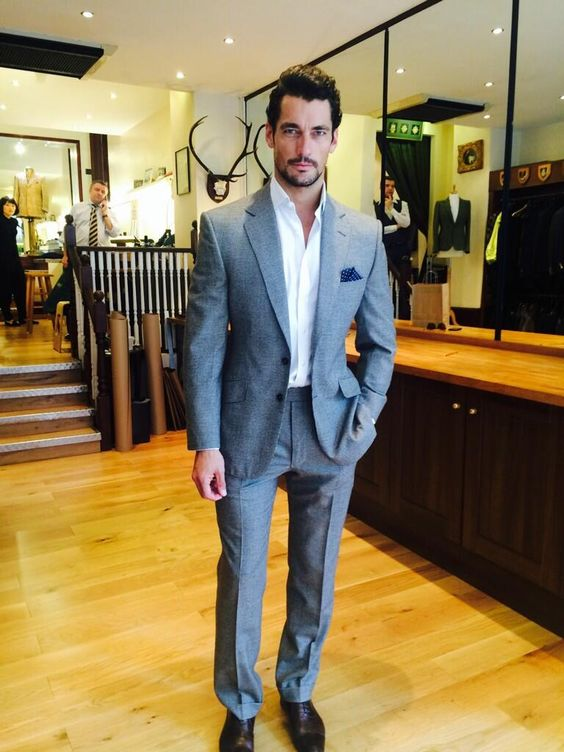 WelshJefferies @Theresa Welsh and Jefferies · 45m David Gandy collecting his suit today