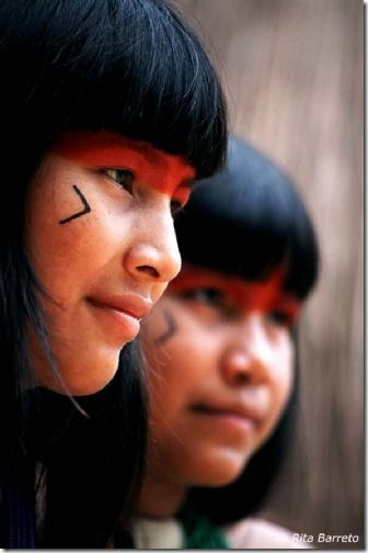 Indigenous Indians of what is now called Brazil.  click photo for story