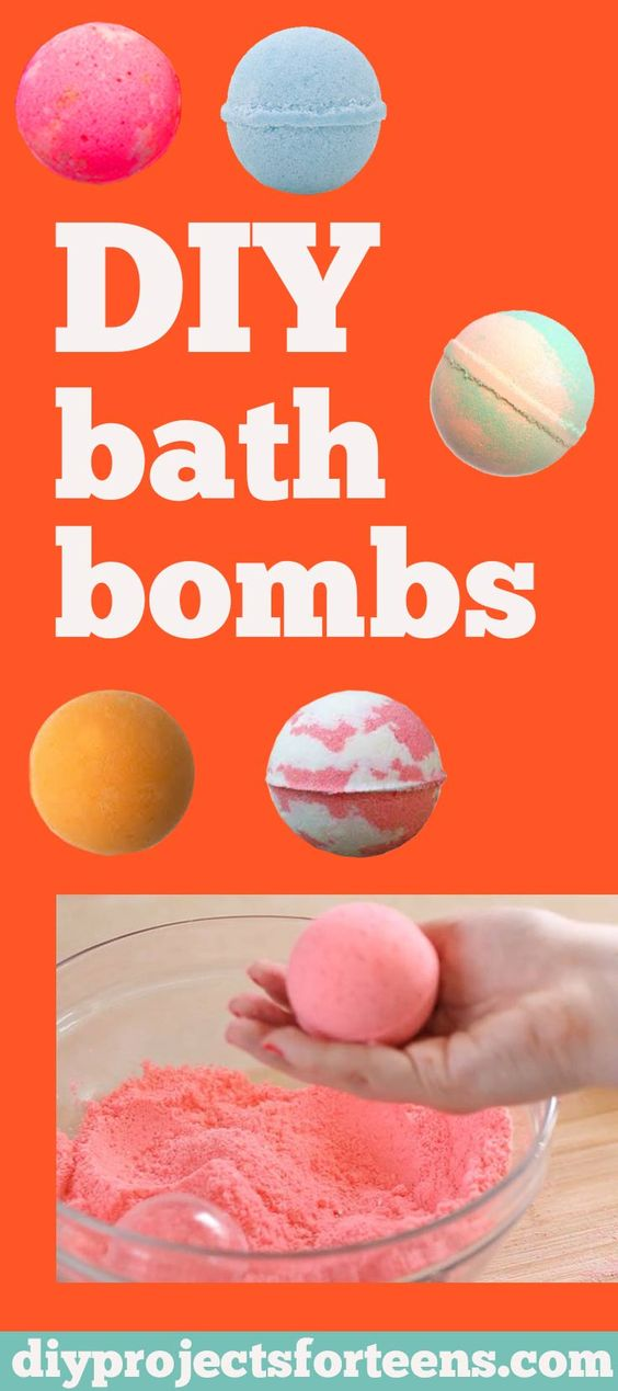 How to Make Homemade Bath Bombs Like Lush - DIY Bath Bombs Recipe and Tutorial - Fun DYI Beauty and Bath Gift - Cool DIY Projects and Crafts for Teens: