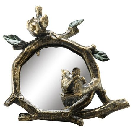 Lovebirds Wall Mirror.