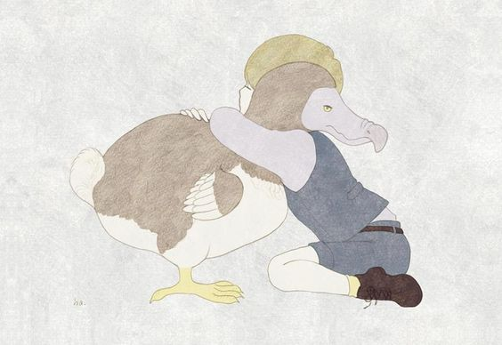 Serrer un Dodo contre son coeur...  Illustration By: 小池葉月(Hazuki Koike)