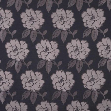 Bardot Curtain Fabric - Graphite
