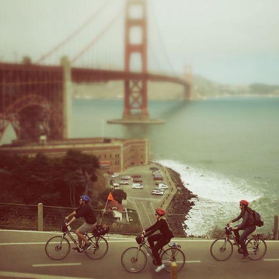 #Biking  #SanFrancisco #california #bike #golden #gate #bridge