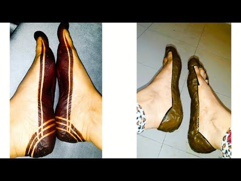 Use The Tape And Make A Very Nice Sudanese Henna Mehndi Design For Yourself اسهل حنه سودانيه بالشريط Youtube In 2021 Henna Designs Feet Henna Designs Henna