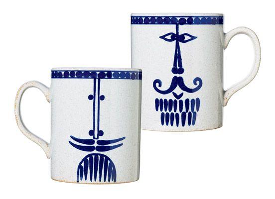 リサ・ラーソンの波佐見焼マグカップ《pappa》。 | casabrutus.com