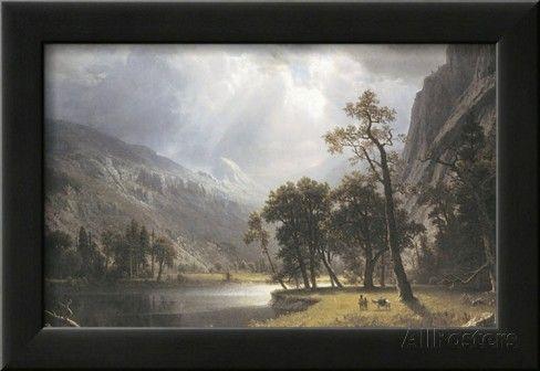 Half Dome, Yosemite Valley Print by Albert Bierstadt at AllPosters.com
