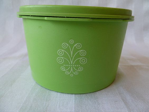 Hey, I found this really awesome Etsy listing at https://www.etsy.com/listing/242557803/vintage-tupperware-green-canister