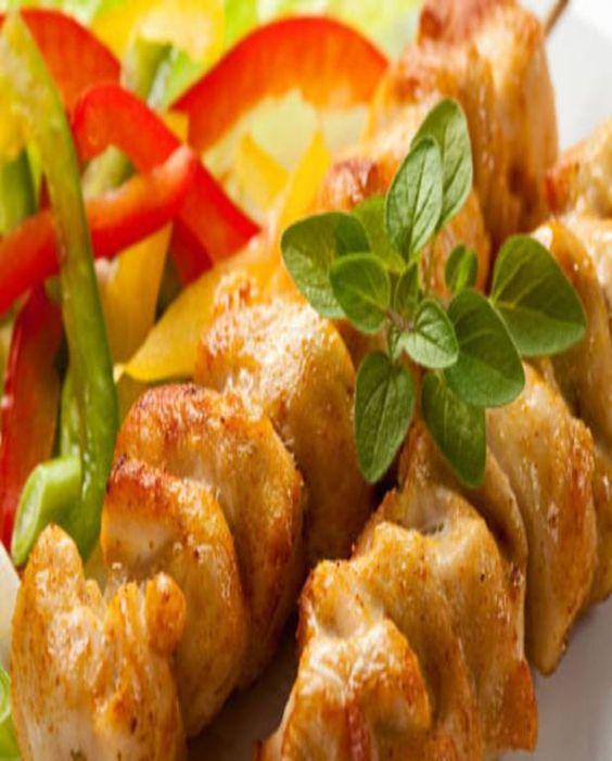 Brochettes de poulet épicées pour 4 personnes - Recettes Elle à Table