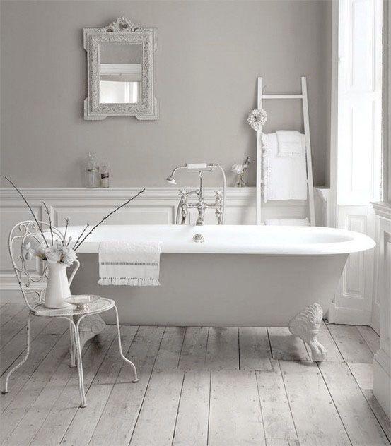 light grey and white bathroom.  Dove Gray Home Decor light grey and white bathroom Pinterest Lights