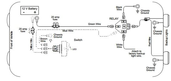 up Light Wiring Diagram Auto Info Pinterest Posts And Lights
