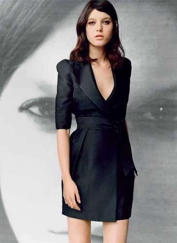 Stella McCartney for Target Austrailia navy blue trench coat dress