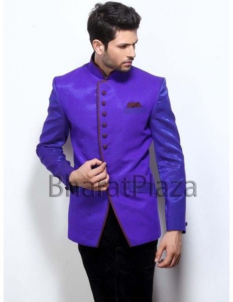 Buy Chocolate Brown Jodhpuri Suit online. http://www.bharatplaza