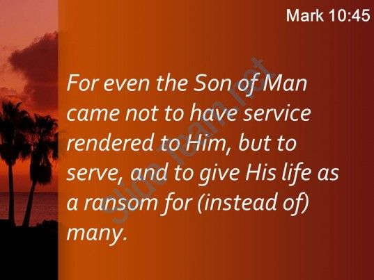 mark 10 45 the son of man did powerpoint church sermon Slide04 http://www.slideteam.net/