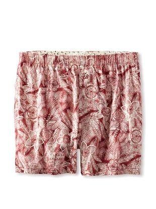 36% OFF Tommy Bahama Men's Batik Print Boxer Brief (Java Red)