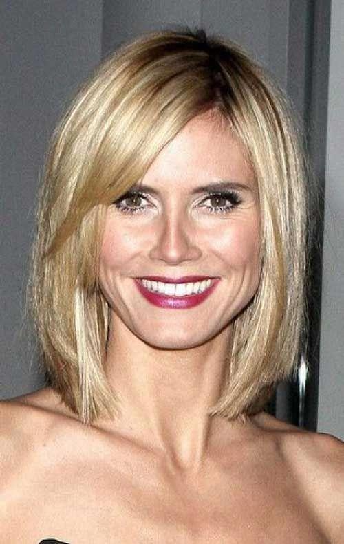 15 Best Heidi Klum Bob Haircuts Bob Haircut And Hairstyle Ideas Heidi Klum Hair Medium Hair Styles Hair Styles