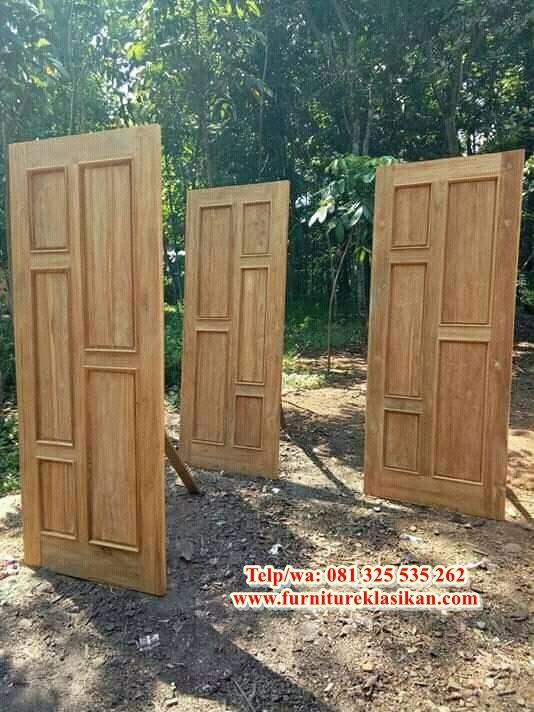 Desain Model 1 Pintu Jati Minimalis Modern Desainer Kusen Pintu Jati Kupu Tarung Deskripsi Pintu Rumah Jati Main Door Design Door Design Home Decor Furniture