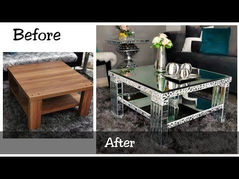 Diy Mirror Coffee Table Ikea, Used Mirrored Tables