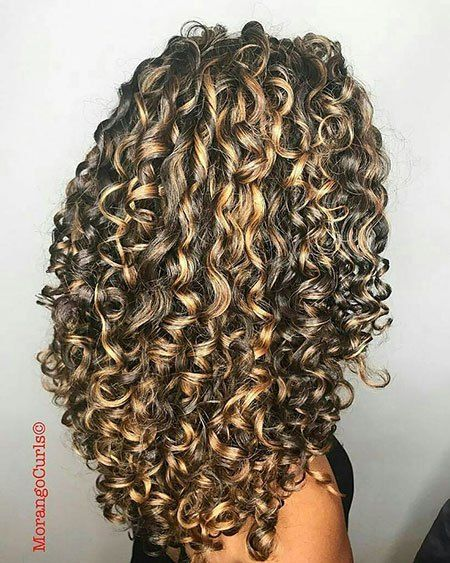 20 Long Curly Hair Color Ideas With Images Curly Hair Styles