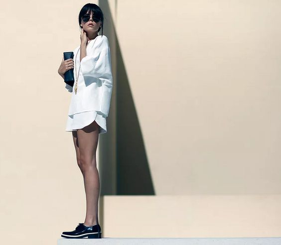 Evangelie Smyrniotaki do Style Heroine.
