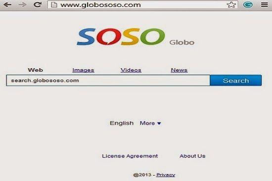 Searches.globososo.com est un pirate de navigateur perfide qui est installé sur votre ordinateur avec un logiciel de programmation des autres malveillants. L'objectif principal de cette Searches.globososo.com est à craquer la défense de cet ordinateur cible en piratant le plus en utilisant tous les navigateurs comme Google Chrome,