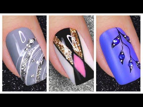 Nail Art Designs 2020 New Nail Art For Short Nails Youtube In 2020 New Nail Art Nail Art Designs Nail Designs Tutorial